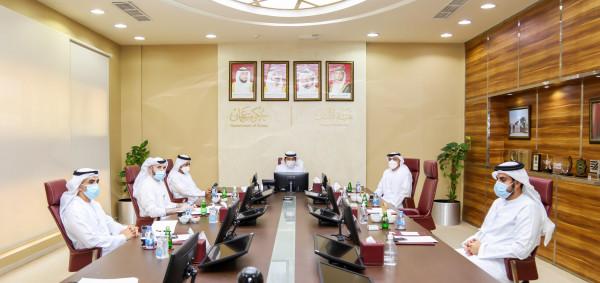 مجلس إدارة هيئة النقل –عجمان يعقد اجتماعه الأول