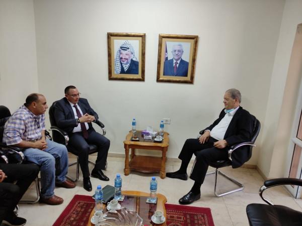 فتوح يطلع سفير نيكاراغوا على آخر التطورات على الساحة الفلسطينية