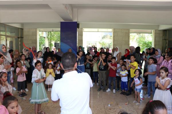إقامة المهرجان الترفيهي لمستحقي النفقة في محافظة الخليل