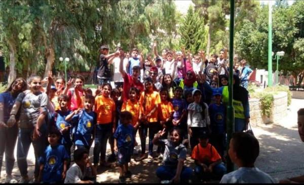 نادي جبل النار بمدينة نابلس يستقبل جمعية حماية المستهلك الفلسطيني بمحافظة رام الله والبيرة