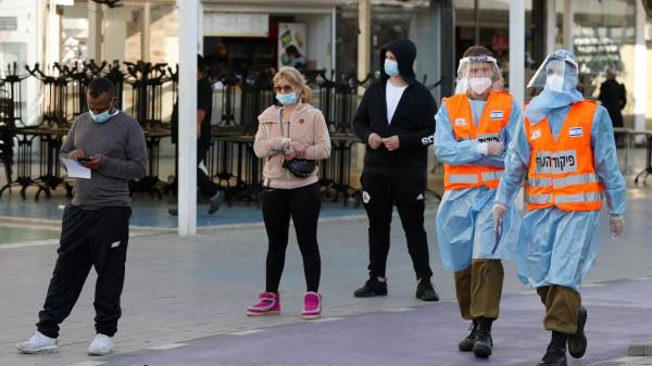 الصحة الإسرائيلية: 1400 إصابة جديدة بفيروس (كورونا)