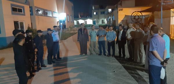 حماس تزور مركز شرطة النصيرات وسط القطاع