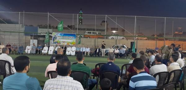 حماس في شمال النصيرات تنظم لقاء معايدة
