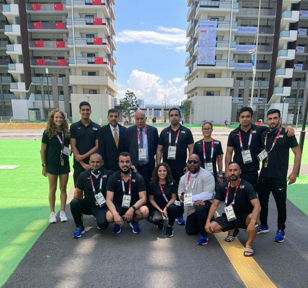 الرجوب يلتقى بعثة فلسطين المشاركة في أولمبياد طوكيو