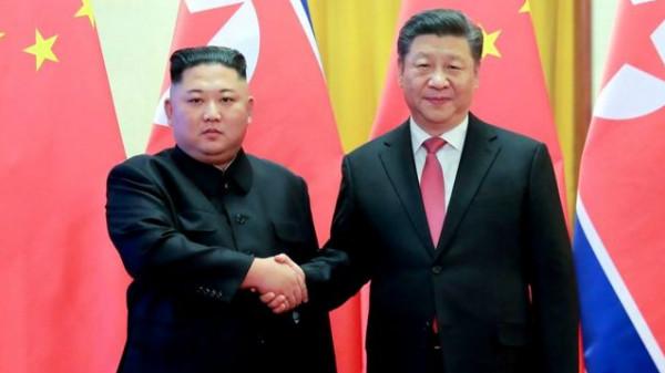 كيم جونغ أون يبعث رسالة إلى الرئيس الصيني