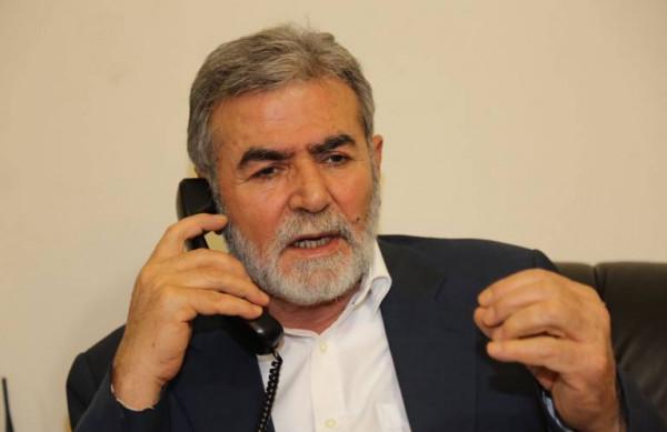 تفاصيل الاتصال الهاتفي بين النخالة وعائلة ساق الله بغزة