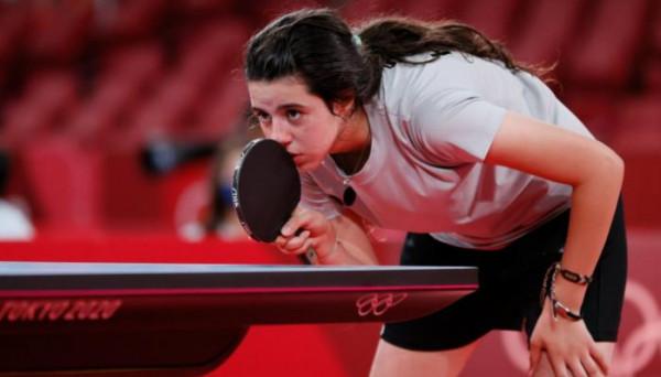 السورية ظاظا أصغر مشاركة في أولمبياد طوكيو تودع البطولة