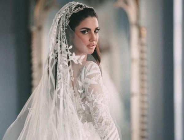 شاهدي أرقى و أفخم فساتين الزفاف من وحي الفنانات