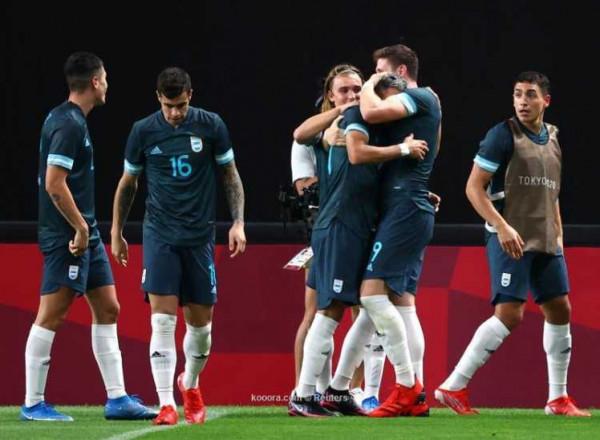 الأرجنتين تهزم مصر في منافسات كرة القدم بالأولمبياد