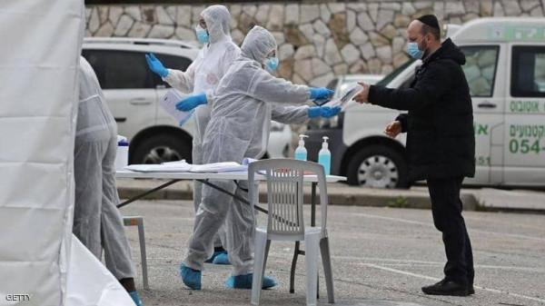 عدد الحالات الخطيرة لـ (كورونا) يتجاوز الـ 100 في إسرائيل