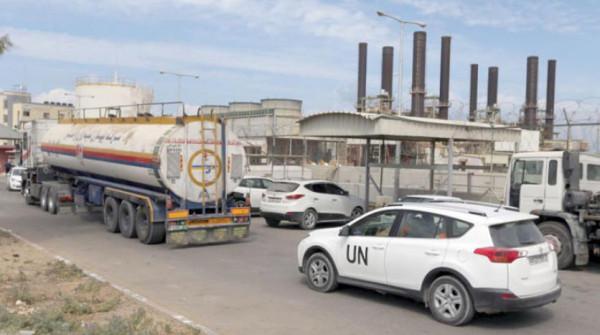 الاحتلال يقرر استئناف إدخال السولار لتشغيل محطة كهرباء غزة الاثنين