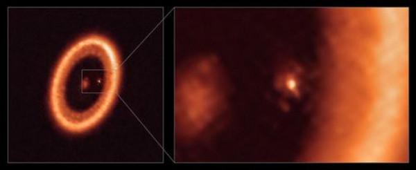 شاهد: علماء يرصدون ولادة قمر جديد لأول مرة في التاريخ