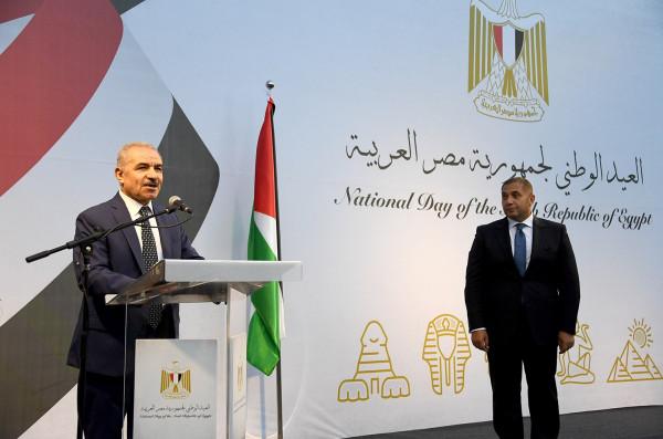 اشتية: سنبقى مع مصر في خندق واحد من أجل القدس والدولة والوحدة