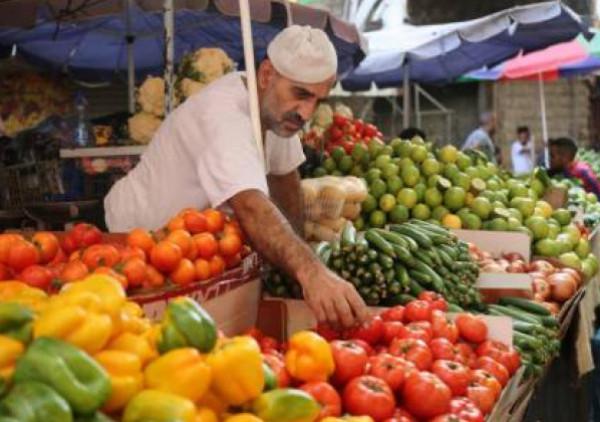 طالع أسعار الخضروات والفواكه في قطاع غزة