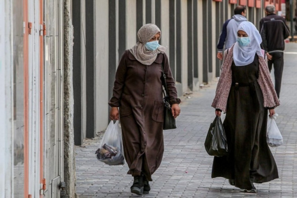 غزة: تسجيل حالة وفاة و69 إصابة جديدة بفيروس (كورونا)