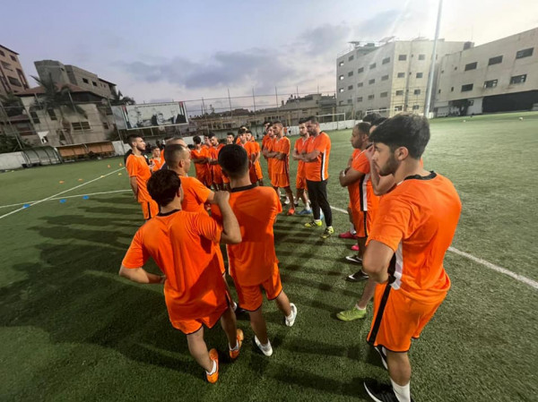 استعدات نادي قلقيلية الأهلي لدوري الإحتراف الجزئي