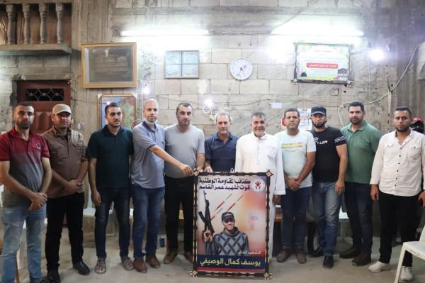 الديمقراطية تزور عائلة الشهيد القائد يوسف الوصيفي في الذكرى السابعة لاستشهاده