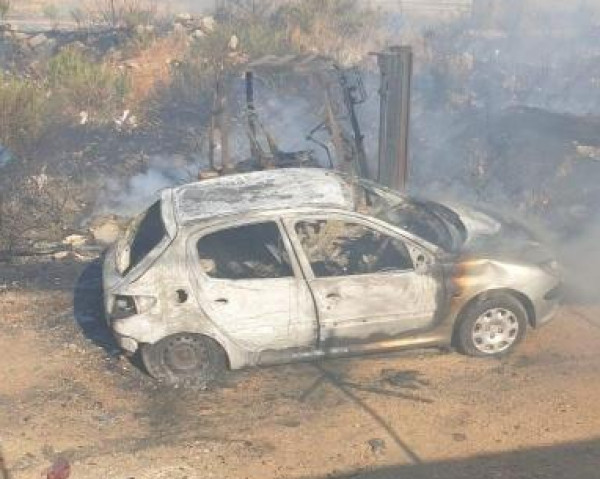 فرض حظر التجول في الخليل بسبب أحداث عنف وحرق للمحال التجارية والمركبات