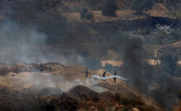 نابلس: 106 إصابات خلال مواجهات مع قوات الاحتلال في بلدة بيتا