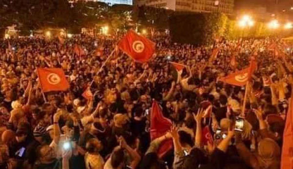 الخارجية الفلسطينية تعلق على تطورات الأحداث في تونس