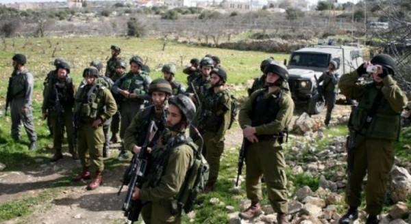 الاحتلال يداهم منطقة المالح بالأغوار ويشن حملة تفتيش على خطوط المياه