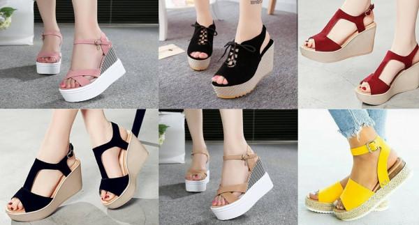 إليك أجمل موديلات أحذية مزيّنة بالسلاسل