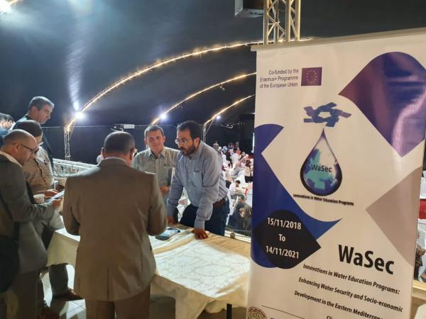 """مشروع """"واسق"""" الذي تديره جامعة خضوري الأفضل على مستوى جامعات الوطن"""