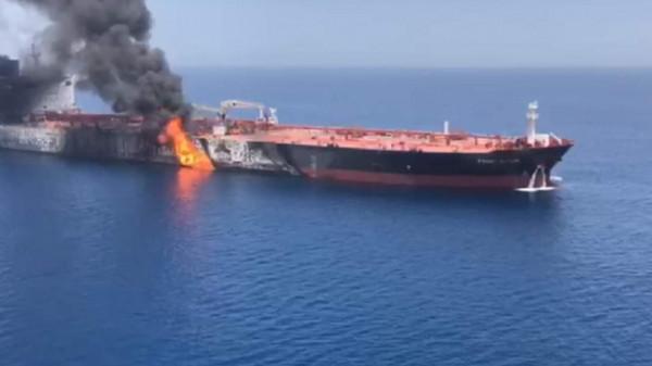 أول تعليق من إيران على اتهامها بالمسؤولية عن هجوم الناقلة الإسرائيلية في بحر عُمان