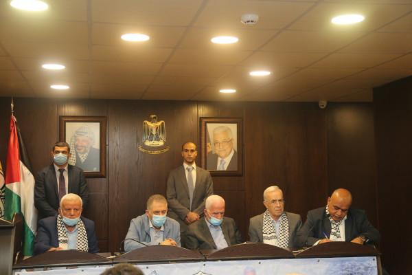 انطلاق أعمال مؤتمر حركة فتح - إقليم لبنان