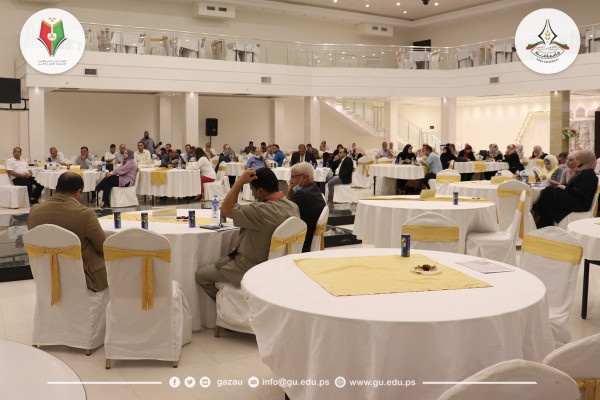 اختتام الجلسة الأولي للمؤتمر الدولي العلمي الإعلام والقضية الفلسطينية –الواقع والمأمول