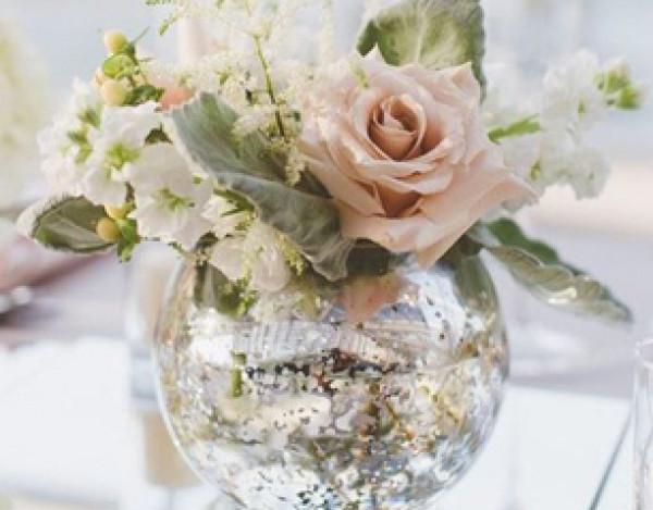 شاهدي: استخدامات اللون الفضي بحفل الزفاف