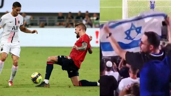الجماهير الإسرائيلية تطلق صافرات استهجان ضد المغربي حكيمي