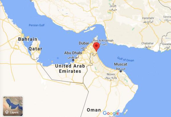 اتهامات لإيران باختطاف ناقلة نفطية قبالة سواحل الامارات