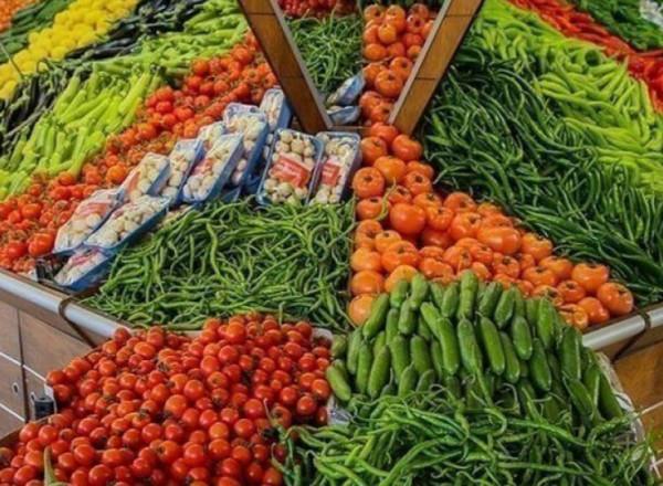 قائمة بأسعار الخضار واللحوم في أسواق غزة