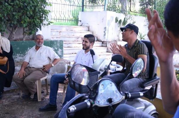 """""""لجنة المرأة"""" بالشخصيات المستقلة تنظم لقاءً هامًا مع اتحاد المعاقين بغزة"""