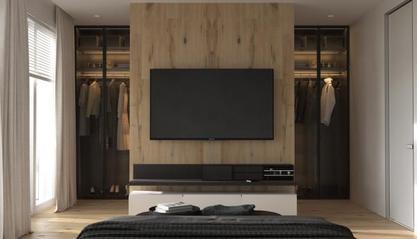 إليك أهم الأفكار لوضع التلفزيون في غرفة النوم