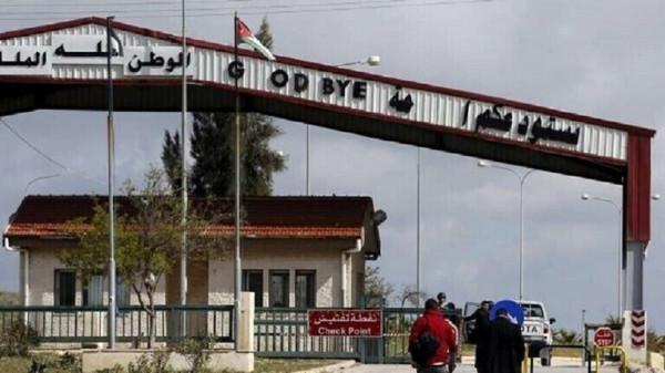 عودة حركة الشحن عبر مركز جابر بين الأردن وسوريا