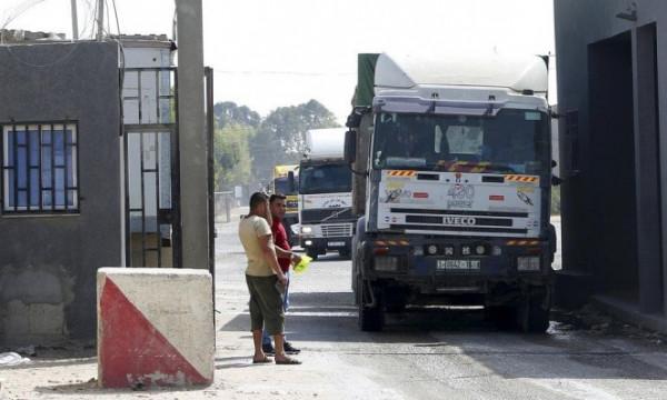 """أبو الريش يتحدث لـ""""دنيا الوطن"""" عن البضائع التي أُدخلت للقطاع عبر (كرم أبو سالم)"""