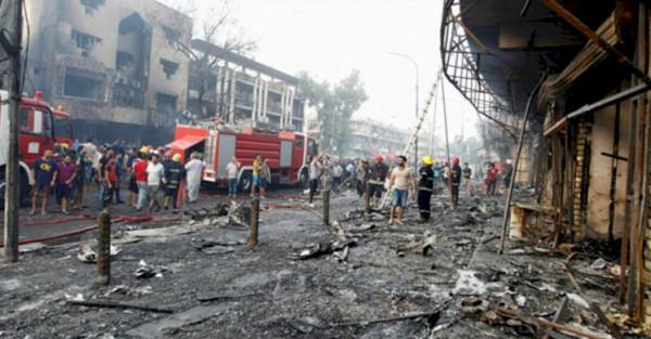 دوي انفجار في العاصمة العراقية بغداد