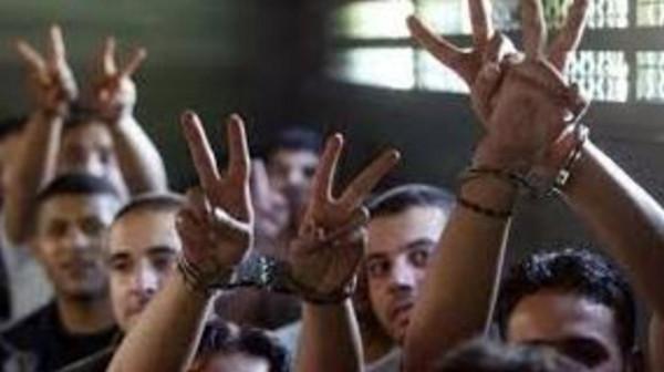 نادي الأسير: (13) أسيراً يواصلون الإضراب ضد الاعتقال الإداري وآخر ضد عزله