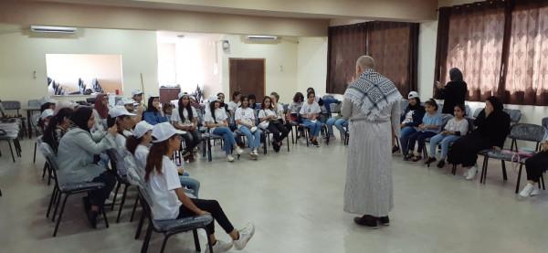 قلقيلية: وزارة الثقافة تساند المخيمات الصيفية