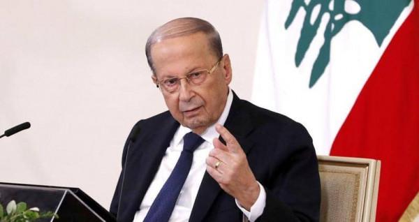 الرئيس اللبناني: استهداف إسرائيل بسلاحها الجوي لقرى لبنانية يؤشر لنوايا عدوانية تصعيدية