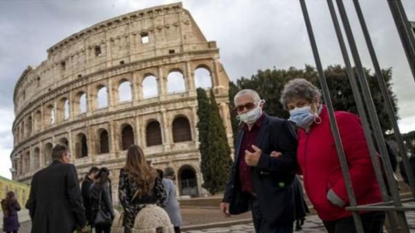 إيطاليا تسجل 27 وفاة بفيروس (كورونا) و7230 إصابة جديدة