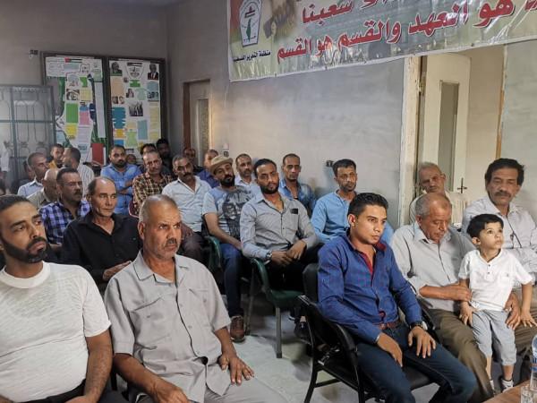 """""""النضال الشعبي"""" تحيي ذكرى انطلاقتها واستشهاد المؤسس سمير غوشة"""