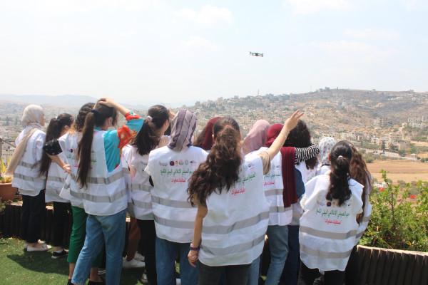 طوباس: إطلاق مخيم صحافيات صغيرات التاسع