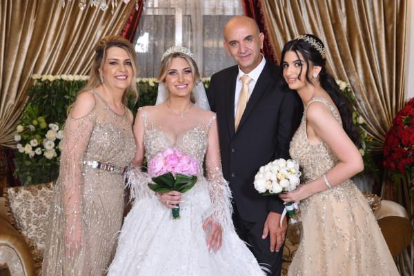 شاهد: النجوم والمشاهير يجتمعون في حفل زفاف نيقولا بسام نعمة وستيفاني جان الغريّب
