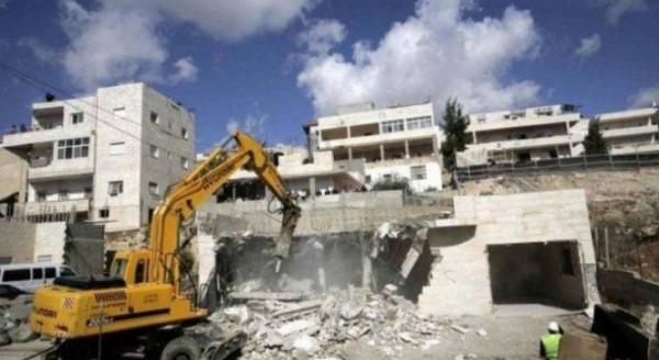 Buldoser Israel Hancurkan Rumah Keluarga Palestina di Silwan, Al-Quds