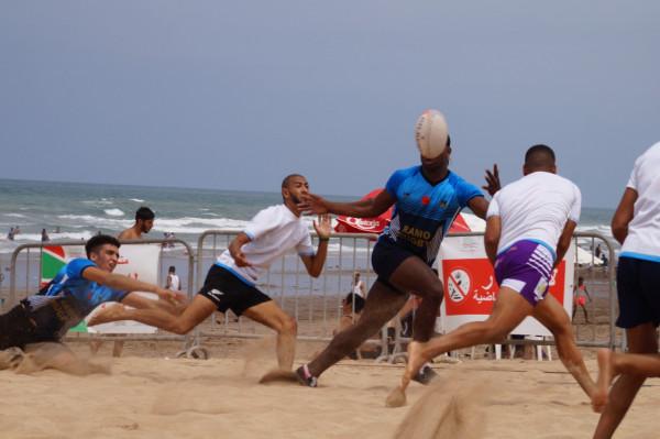 انطلاق الدوري الأول لريكبي الشاطئ بطماريس