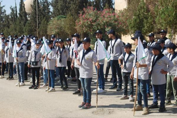 """مجموعة بيسان الكشفية تفتتح مخيم """"بيتا"""" الكشفي"""
