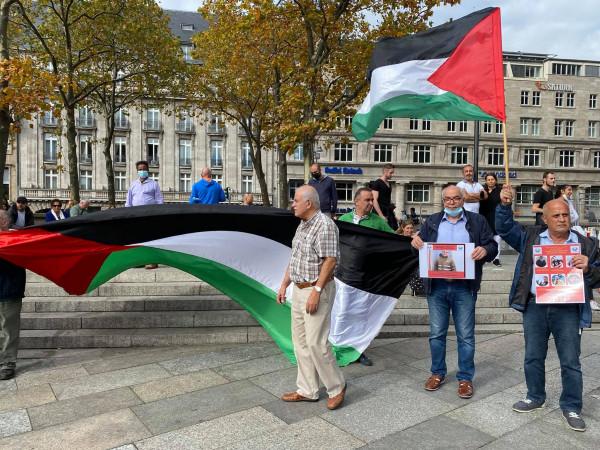 ألمانيا: وقفة تضامنية مع الأسرى